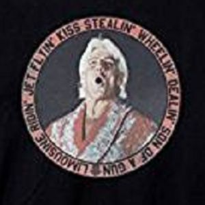 WWE Shirts - Ric Flair T Shirt, Jet Flyin' Kiss Stealin' NWOT